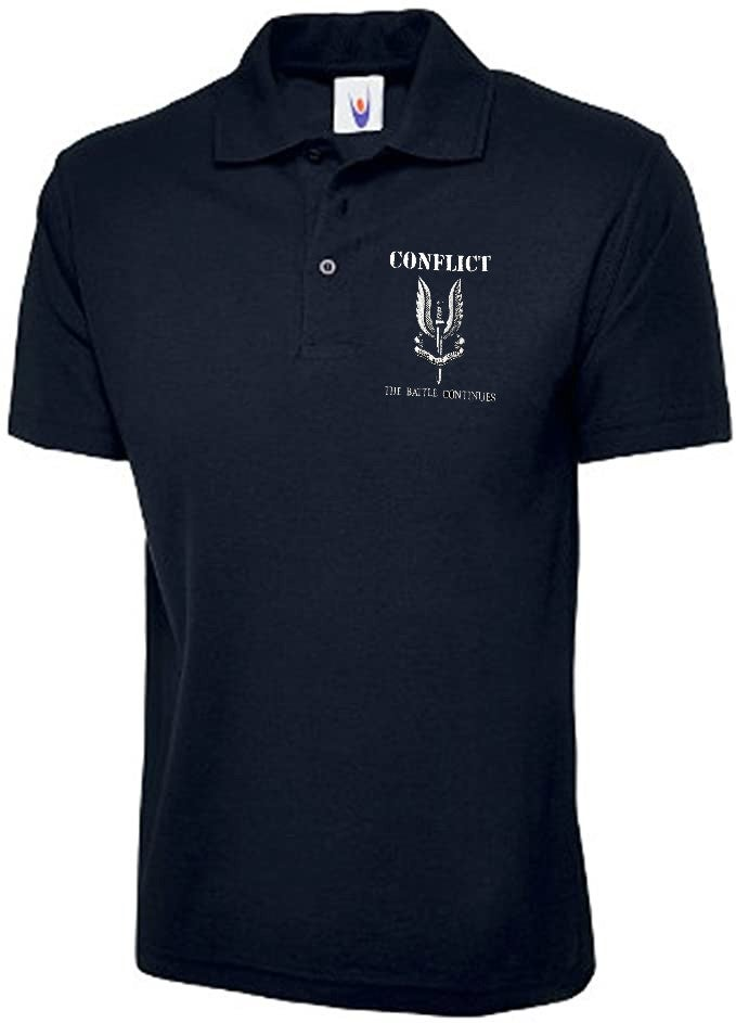 Image of CONFLICT - The Battle Continues Polo Shirt