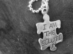 Image of I am the Solution Necklace
