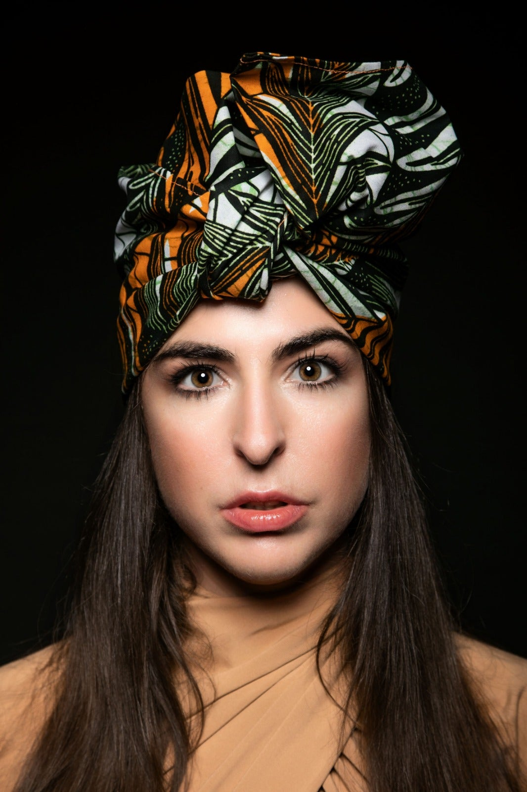 "Image of turbante headwrap  ""la felce"""