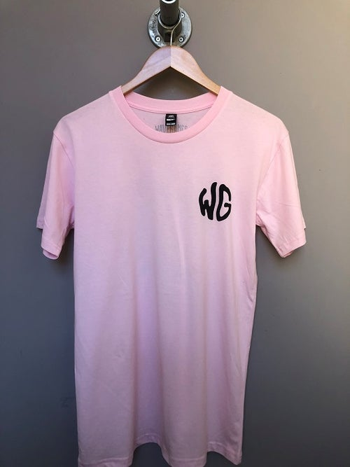 Image of Wave Games Sun T-shirt in Pink
