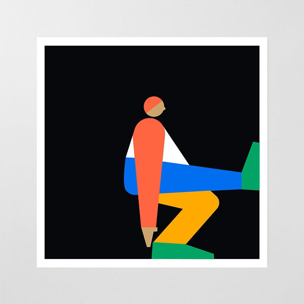 Square Stretch Print