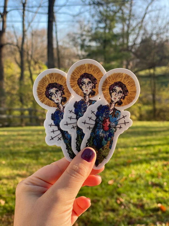 Image of Our Lady Of Sorrows Sticker