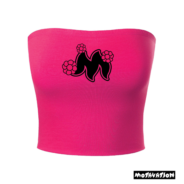 Image of Motavation Womens Pink Tube Top