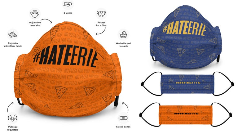 Image of #HATEERIE Mask - One Size