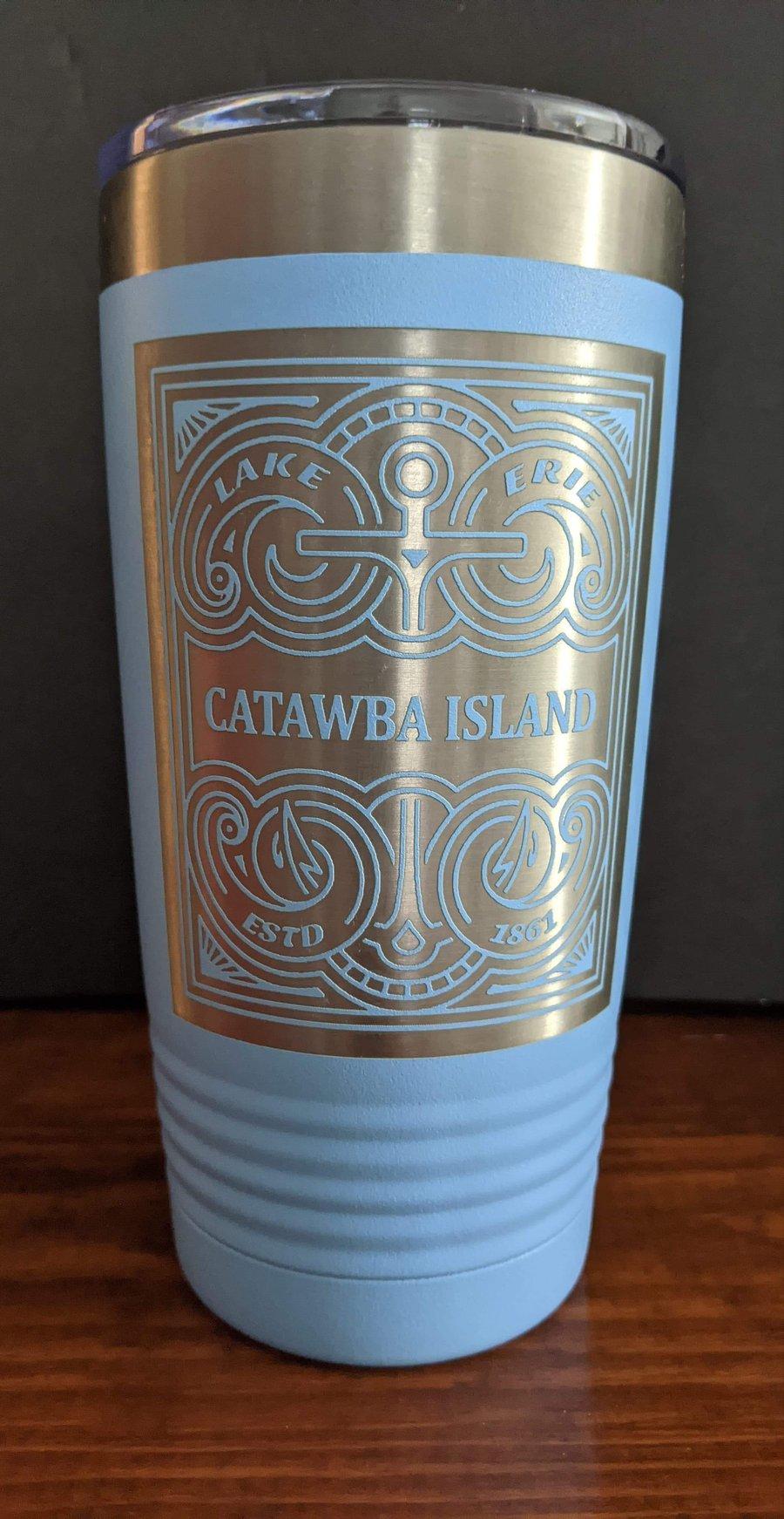 "Image of ""CATAWBA ISLAND"" 20oz. insulated Tumbler"