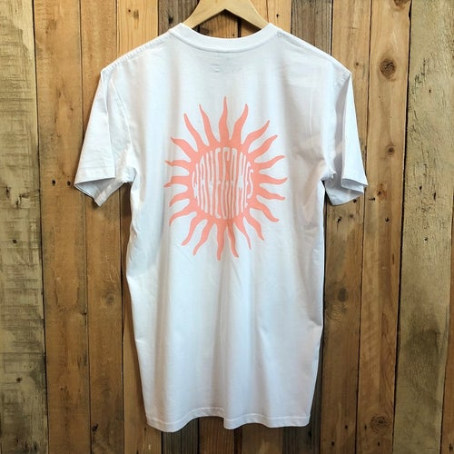 Image of Wave Games Sun T-shirt in White