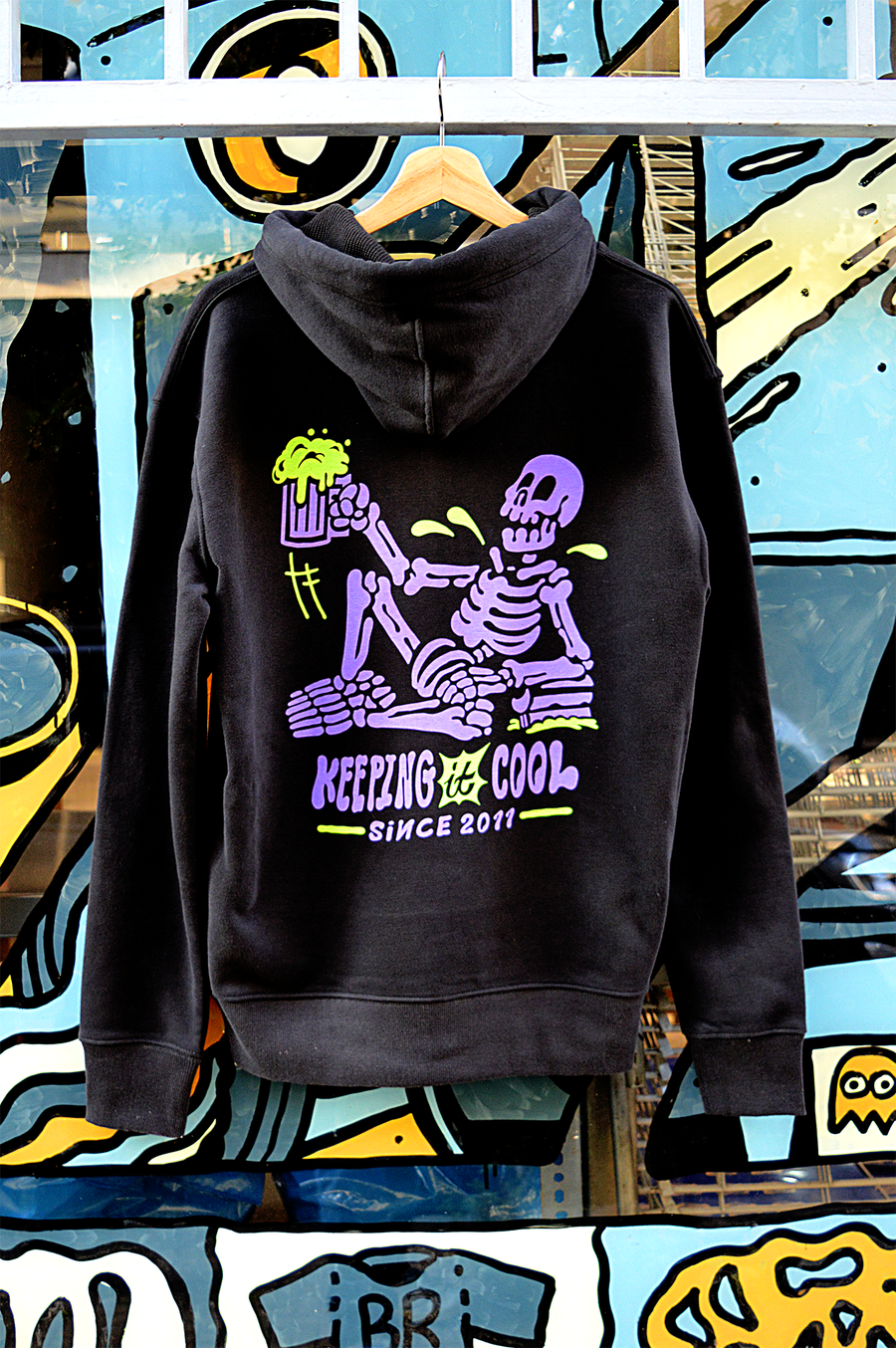 Image of Keeping it Cool Zip-Up Sweatshirt