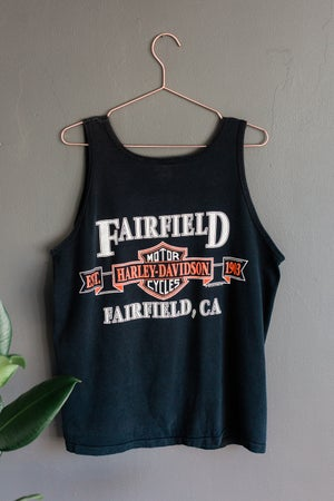 Image of Vintage 1992 Harley Davidson Vest - Fairfield, California