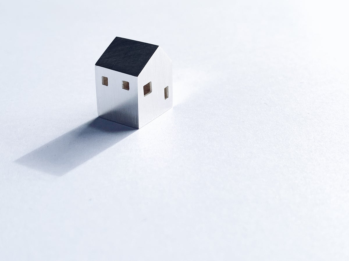 Image of Silver Miniature House