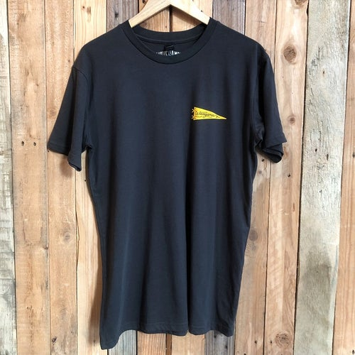 Image of Wave Games Pennant Tee in Faded Black