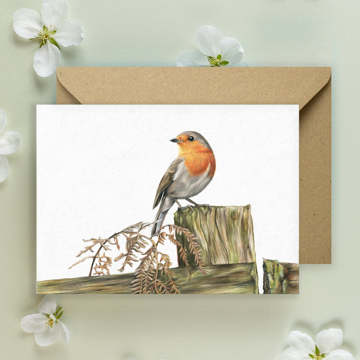 Image of Robin - Greeting Card