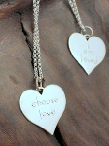 Image of Choose Love/I am Loved Necklace