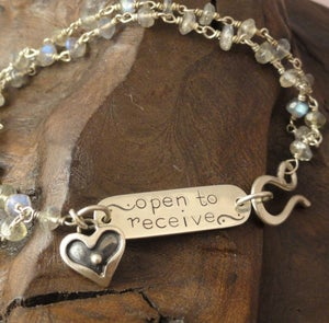 Image of Open to Receive Bracelet