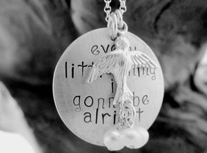 Image of Every little thing is gonna be alright Necklace