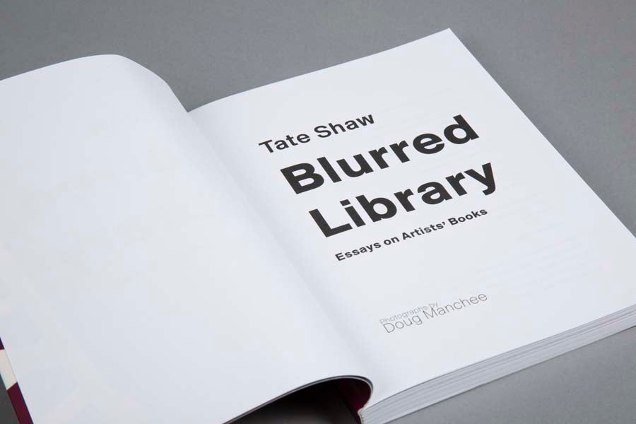Blurred Library - Tate Shaw