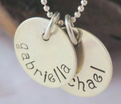 Image of Personalized 2-Charm Necklace