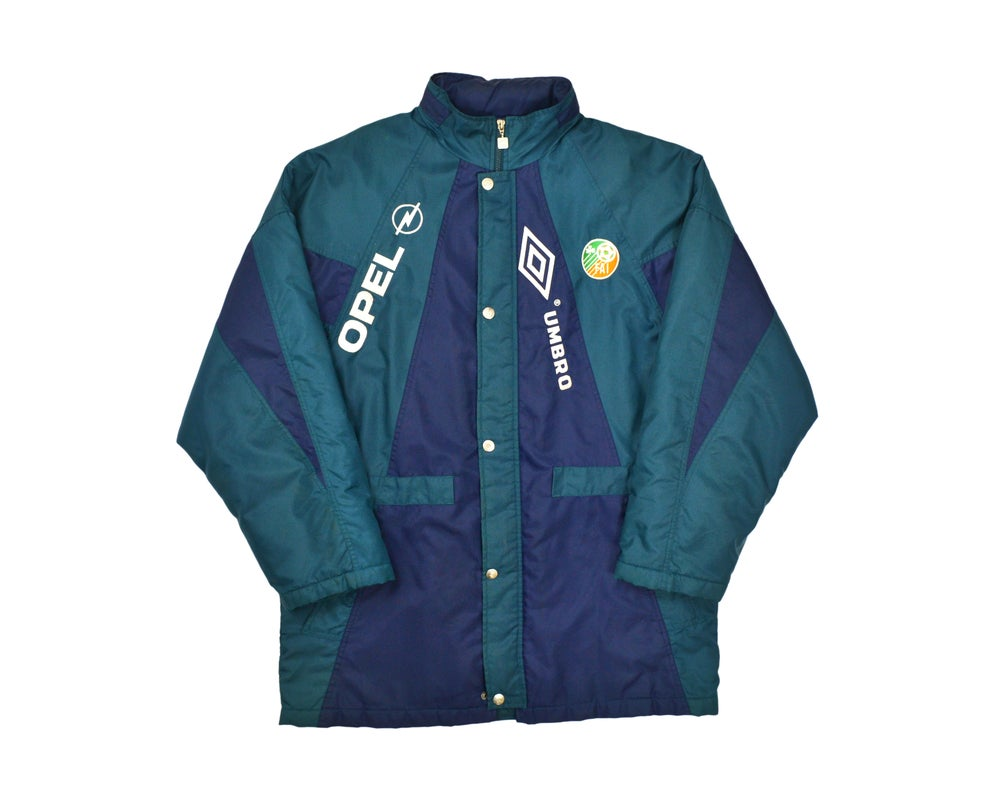 Image of 1994-95 Umbro Ireland Bench Jacket L