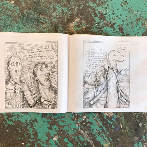 Image of The Funny Pages - by Dan Groth