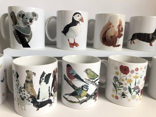 Rocket & Co. Mugs various designs