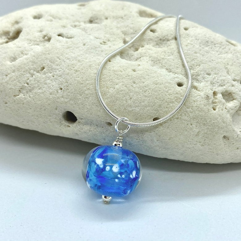 Image of Winter Sky Bobble Necklace without Crystal