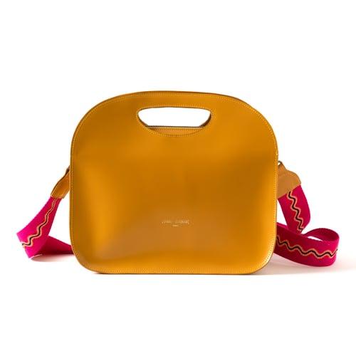 Image of Petit sac cabas RÉSILLE Jaune