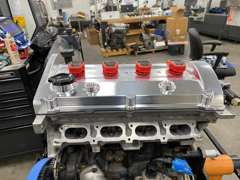 Image of LPS 1.8t billet valve cover (pre-order,currently in production)