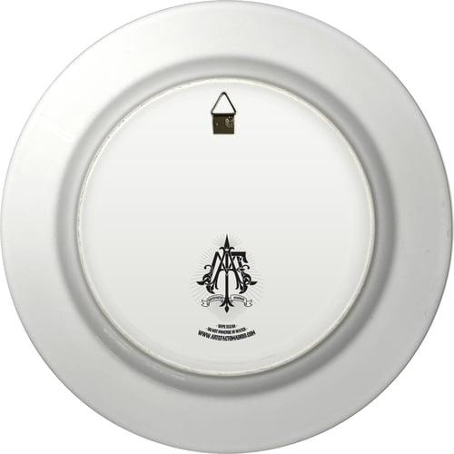 Image of Edward Scissorhands - Large Fine China Plate - #0744