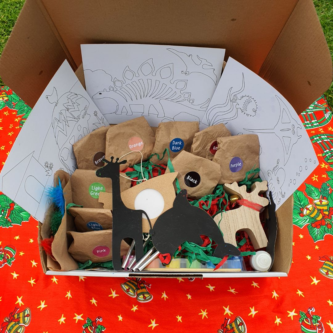 Christmas sensory craft box