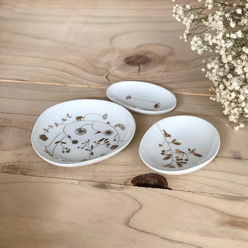 Image of Set de 3 coupelles en porcelaine