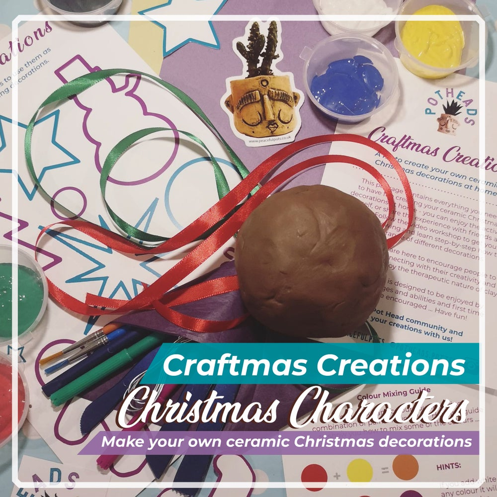 Image of Craftmas Creations - Make Your Own Ceramic Christmas Characters