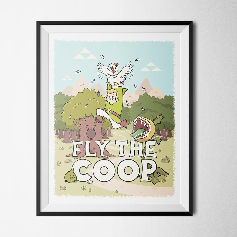 Image of Fly The Coop Zelda Print