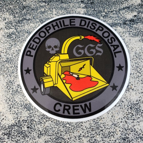 Image of The Crew Tactical Black Sticker