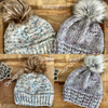 Hand Dyed Luxury Wool Hats (One of a Kind)