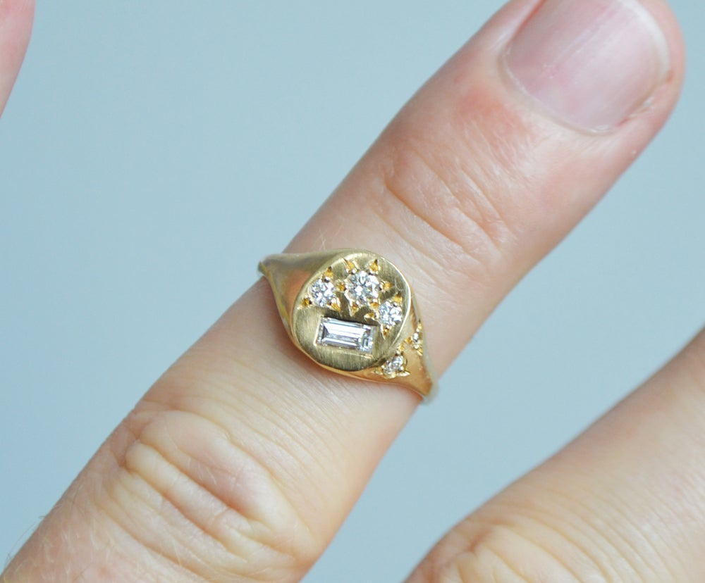 Image of Neapolitan Diamond ring