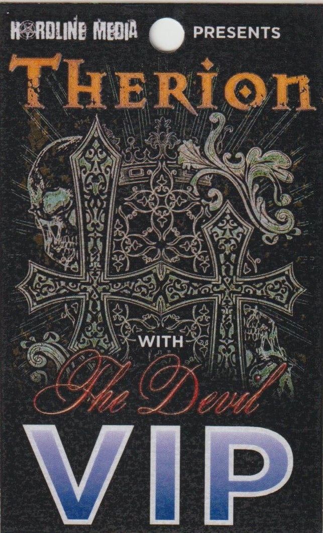 Image of THERION - Aussie Tour VIP Laminate
