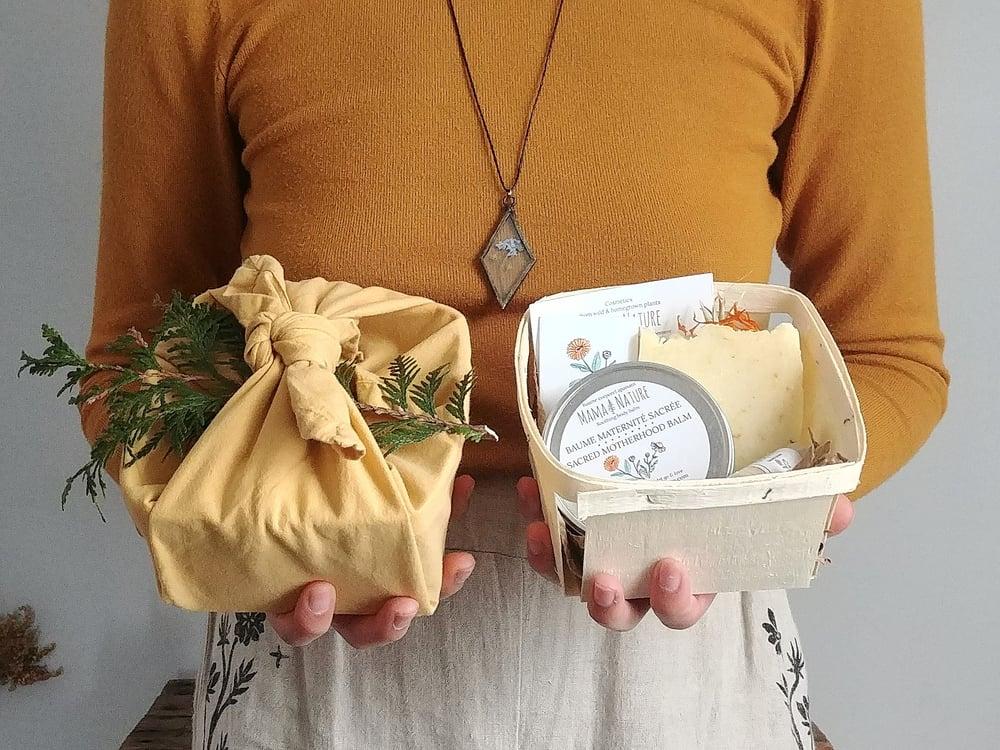 Image of Paniers cadeaux des fêtes - Holiday gift baskets