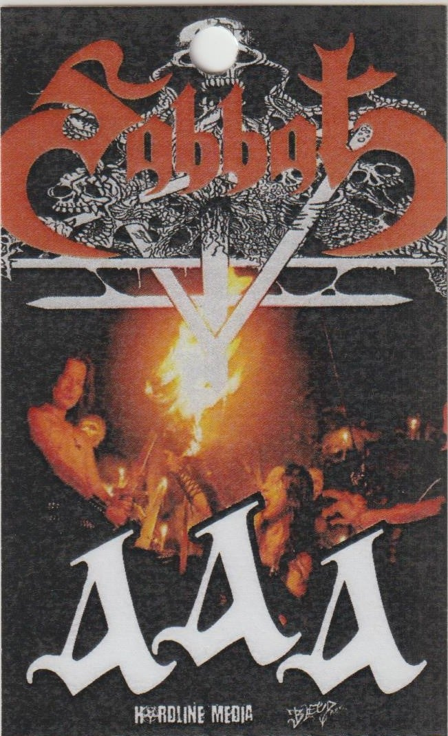 Image of SABBAT - Aussie Tour AAA Laminate