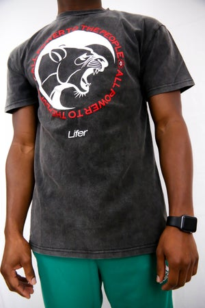 Image of PTTP VINTAGE TEE (ONYX MINERAL WASH)