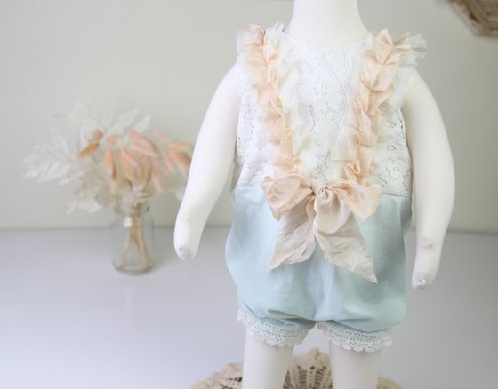 Image of Sitter Pantaloon Romper