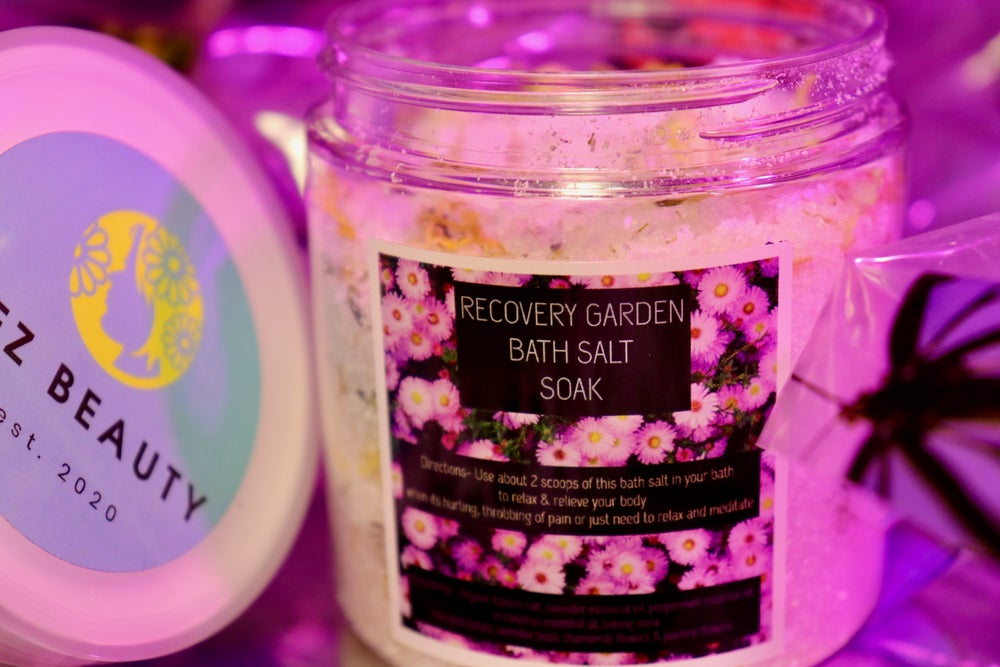 Image of RECOVERY GARDEN BATH SALT SOAK
