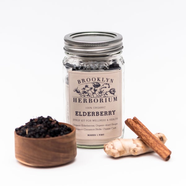 Image of Elderberry Anti-Viral Syrup Kit