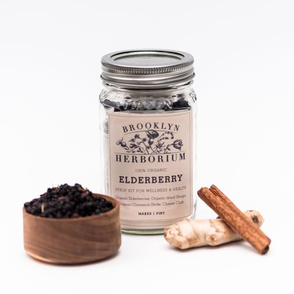 Image of Elderberry Anti-Viral Syrup Kit