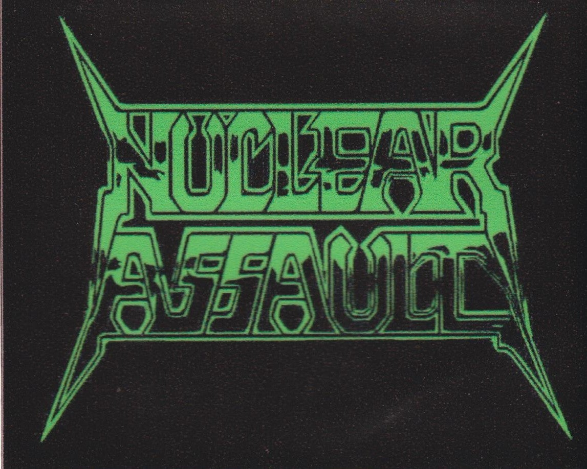 Image of NUCLEAR ASSAULT  - Logo - Aussie Tour Sticker