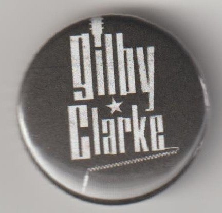 Image of GILBY CLARKE - Aussie Tour Badge/Pin only 2 left
