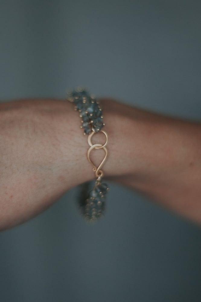 Image of Labradorite Cluster Bracelet