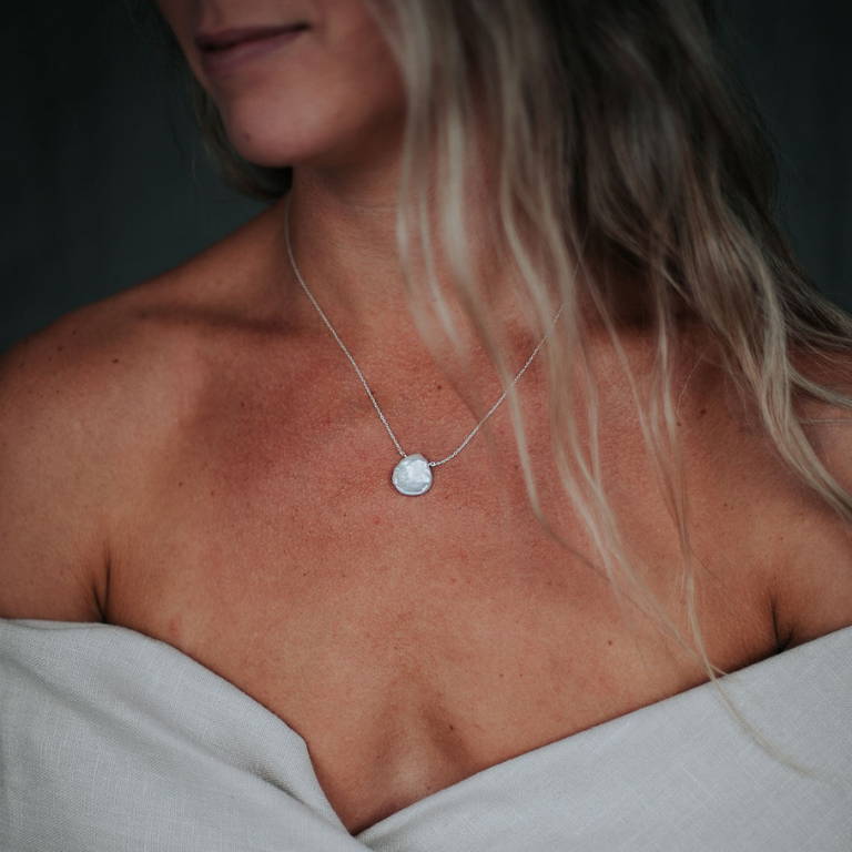 Image of Keishi Pearl Pendant // Small