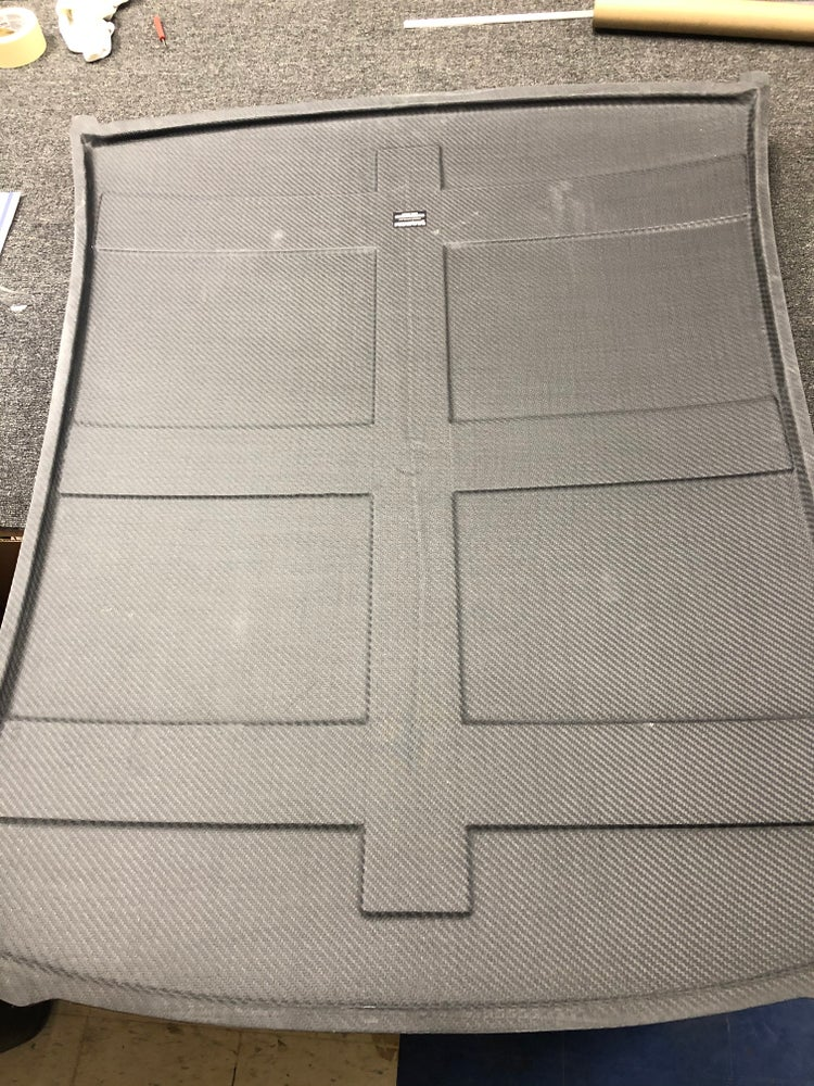 Image of Subaru GC dry carbon roof