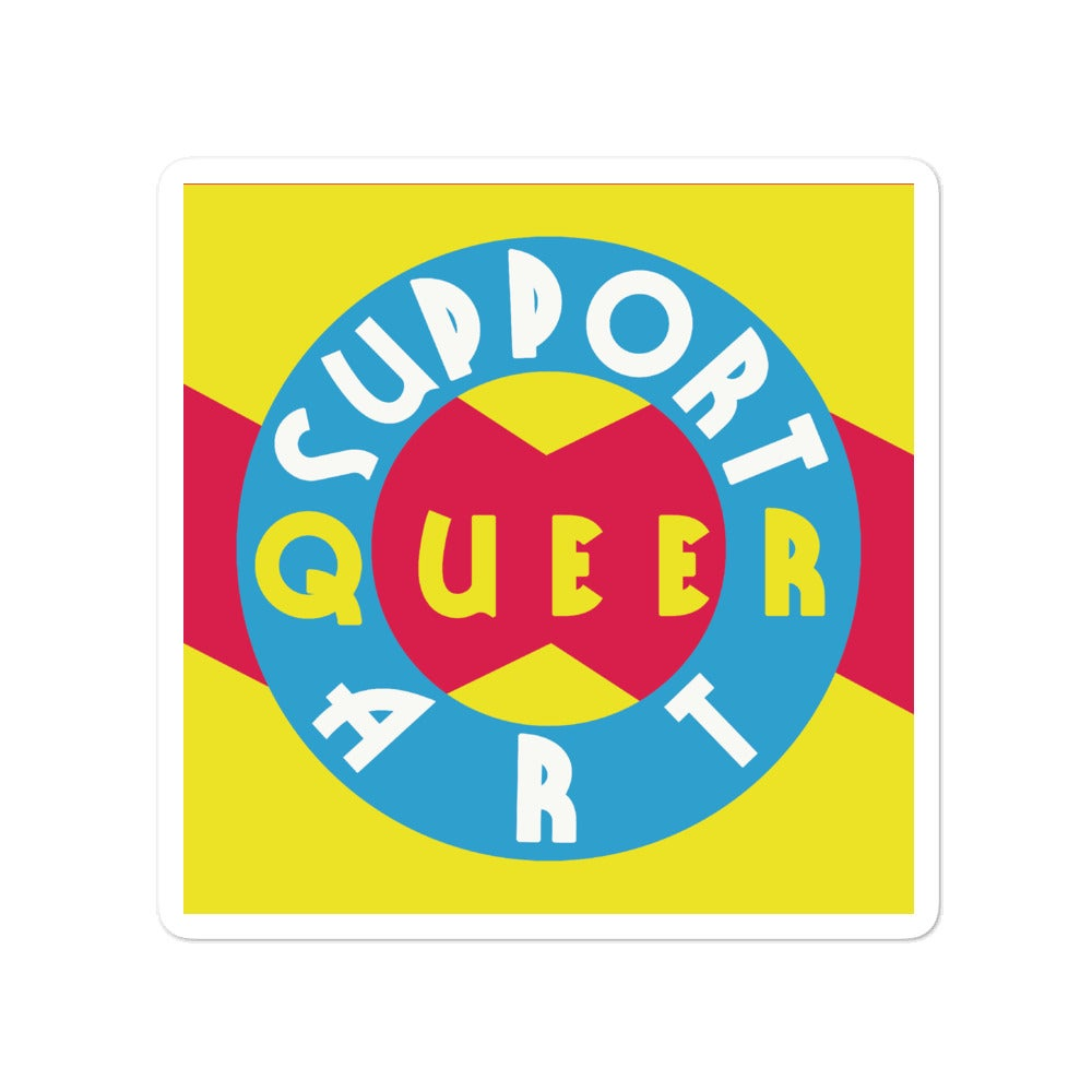Image of Support Queer Art Stickers