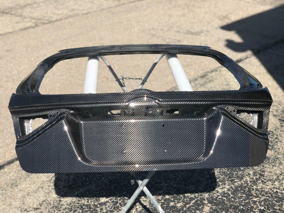 Image of Subaru GR dry carbon hatch