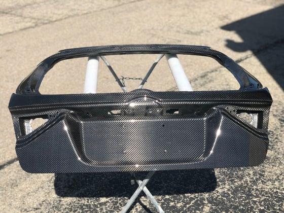 Image of Subaru GR dry carbon hatch